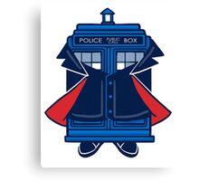 Capaldi TARDIS Canvas Print