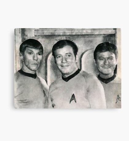Vintage Trek by JS Canvas Print