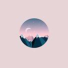 Mountain Peaks by Diana Hlevnjak
