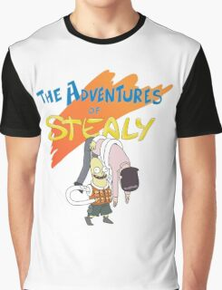 Mr. Stealy! Graphic T-Shirt