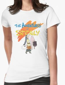 Mr. Stealy! Womens Fitted T-Shirt