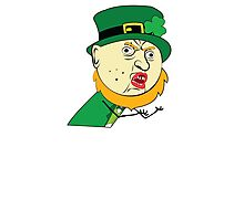 Y U No St Paddy's Day Leprechaun Photographic Print