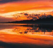 Sunset Reflections Sticker