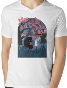 Another Quiet Spot Mens V-Neck T-Shirt