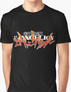 Neon Genesis Evangelion - Anime Logo Graphic T-Shirt