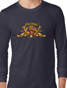 Crazy Drums Long Sleeve T-Shirt