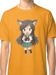 Anime cat girl chibi Classic T-Shirt
