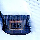 The little Window with a Curtain of Ice by Imi Koetz