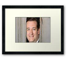Here's Teddy!!! Framed Print