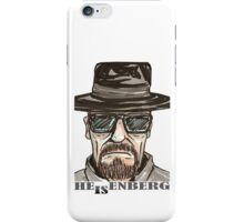 heisenberg1 iPhone Case/Skin