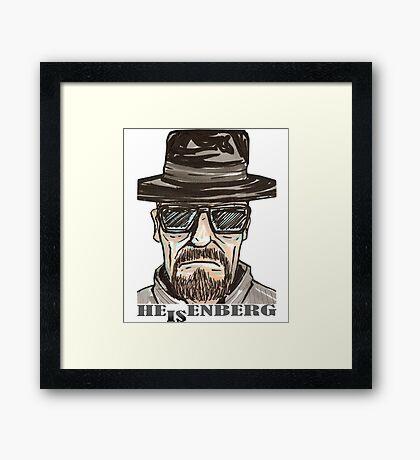 heisenberg1 Framed Print