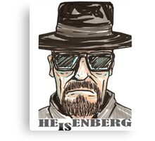 heisenberg1 Canvas Print