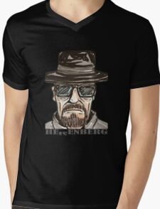 heisenberg1 Mens V-Neck T-Shirt