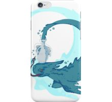 fish outta bottle iPhone Case/Skin