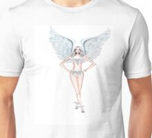 Angel in the town Unisex T-Shirt