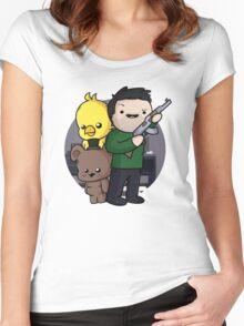 Daithi De Nogla Women's Fitted Scoop T-Shirt