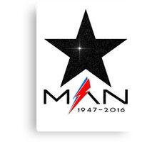 RIP Starman (David Bowie) 1947-2016 Canvas Print