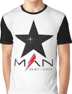 RIP Starman (David Bowie) 1947-2016 Graphic T-Shirt