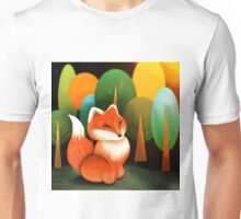 Russian Red Fox Unisex T-Shirt