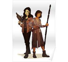 Korrasami Star Wars Crossover Poster