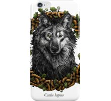 Canis Lupus - Gray Wolf iPhone Case/Skin