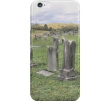 """'""""THE CEMETERY, a Series', No. 3, The Overview""""... prints and products iPhone Case/Skin"""