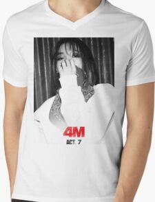 Jiyoon - Hate Mens V-Neck T-Shirt