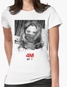 Jihyun - Hate Womens Fitted T-Shirt