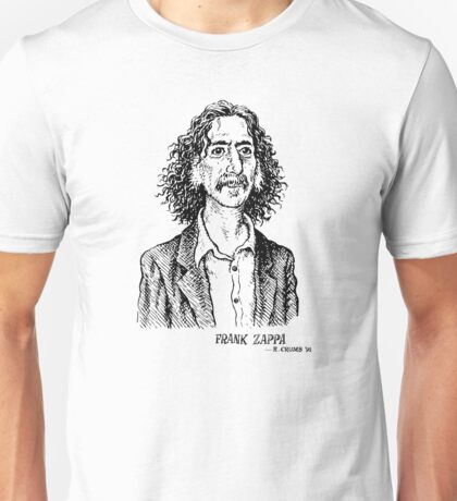 Frank Zappa by Crumb Unisex T-Shirt