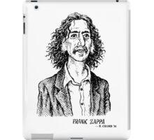 Frank Zappa by Crumb iPad Case/Skin