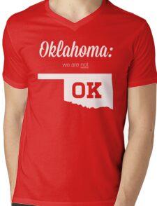 We aren't OK Mens V-Neck T-Shirt