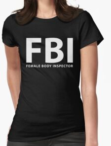 fbi Womens Fitted T-Shirt