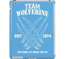 Team Wolverine iPad Case/Skin