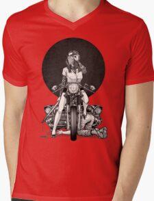 Winya No. 82 Mens V-Neck T-Shirt
