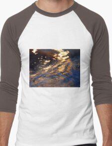 Night Fire Men's Baseball ¾ T-Shirt