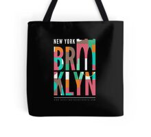 Brooklyn Bridge Black Tote Bag