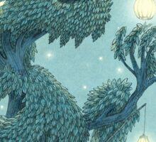 The Night Gardener - Dragon Tree, Night Sticker
