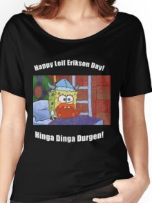 Happy Leif Erikson Day Women's Relaxed Fit T-Shirt