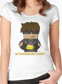 SkyDoesMinecraft Women's Fitted Scoop T-Shirt