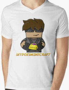 SkyDoesMinecraft Mens V-Neck T-Shirt