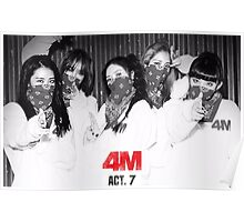 4Minute - ACT.7 poster Poster