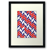 Chevron USA Framed Print