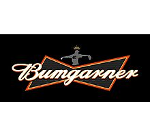 Bumgarner - The King Of Baseball Photographic Print