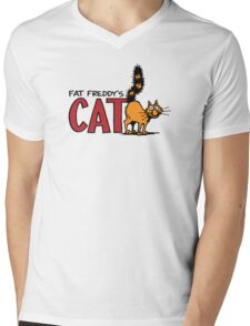 Fat Freddy's Cat Mens V-Neck T-Shirt