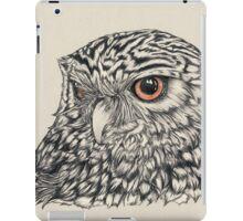 Midnight Little Owl iPad Case/Skin