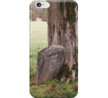 """'""""THE CEMETERY, a Series', No. 5, Stone and Wood""""... prints and products iPhone Case/Skin"""