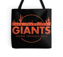 San Francisco Spring Training  Tote Bag