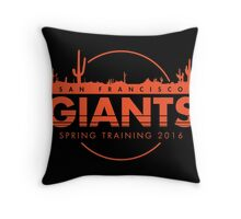 San Francisco Spring Training  Throw Pillow