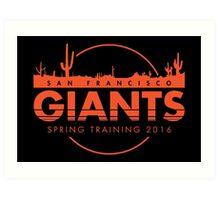 San Francisco Spring Training  Art Print