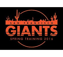 San Francisco Spring Training  Photographic Print